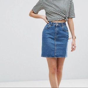 ASOS denim skirt, worn once like new